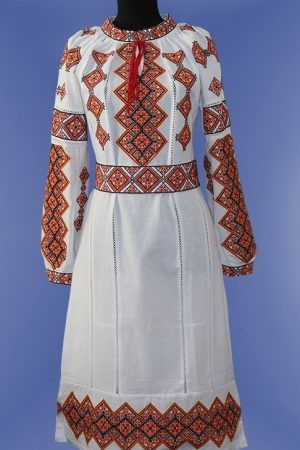 Жіночі вишиті плаття туніки